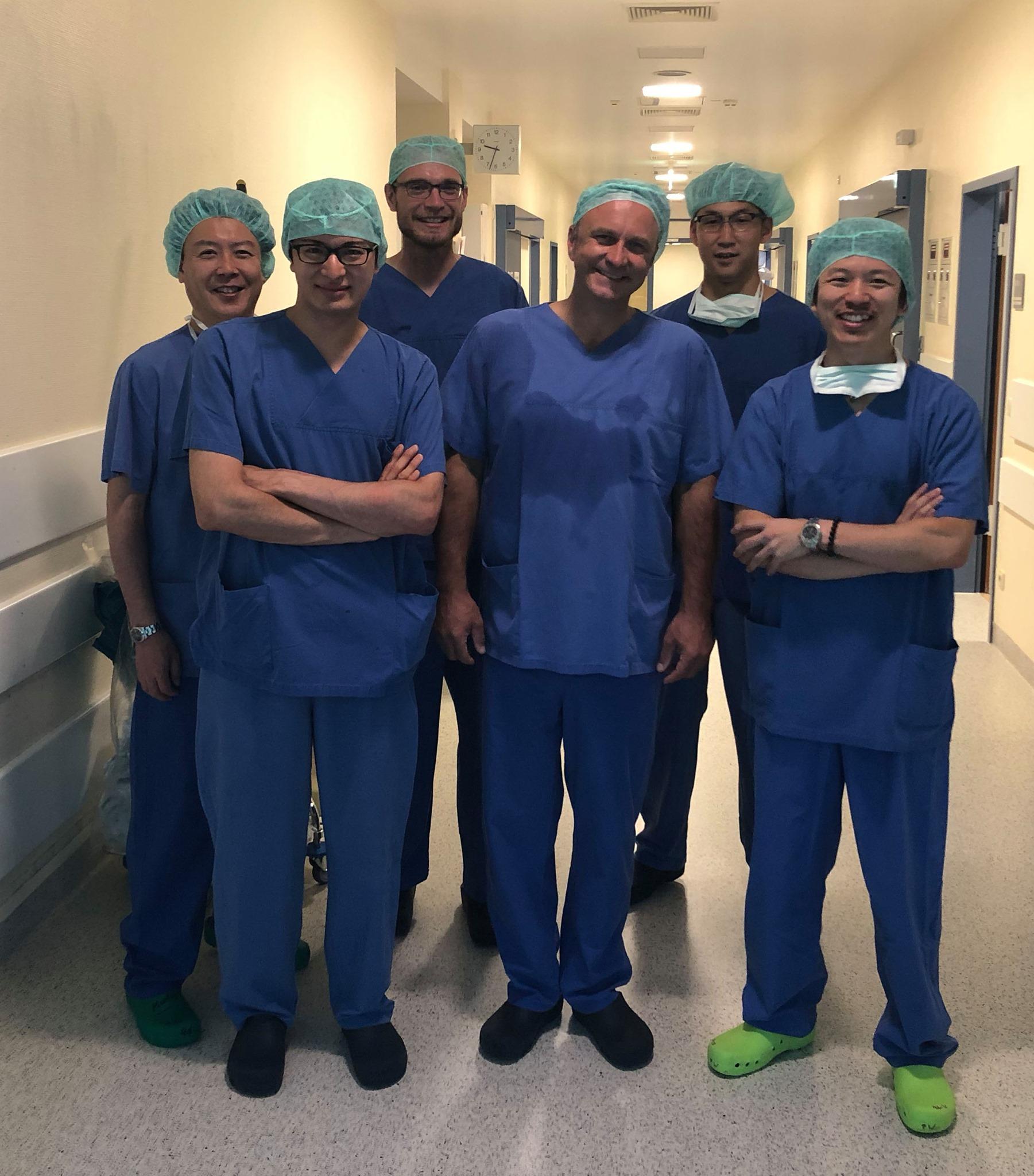 Dr. Demhartner und Kollegen aus Japan